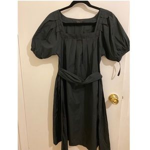 Vintage black colour dress.